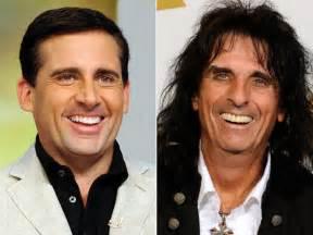 Steve carell amp alice cooper celebrity look alikes celebnewsny