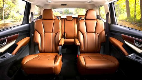 subaru touring interior subaru ascent interior 8 seater luxury edition in detail