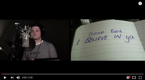 when you believe testo michael bubl 233 i believe in you traduzione testo e