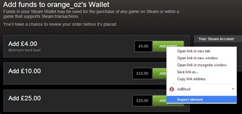 How To Add Money To Steam Wallet With Gift Card - steam community guide how to add specific wallet funds to steam