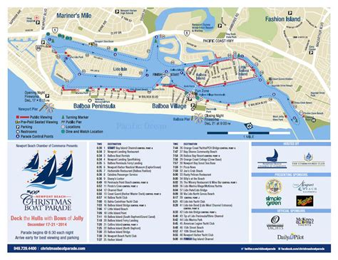 newport beach boat parade traffic newport beach local news special section nb indy guide to