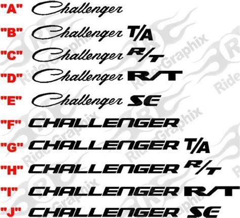 logo dodge challenger dodge challenger logo mopar model logo