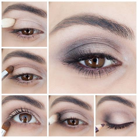 beauty tutorial popsugar beauty how to create the perfect brown smokey eye in 5 steps