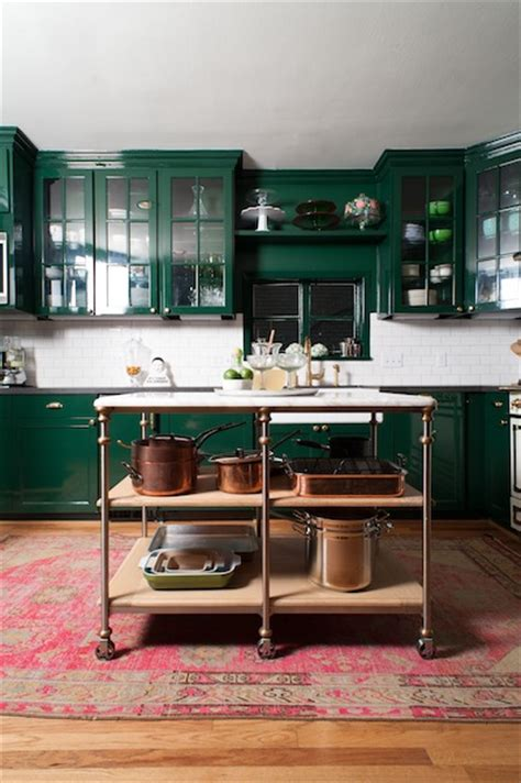 dark green kitchen cabinets dark green cabinets and copper pots bailey mccarth