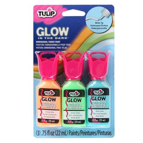 glow in the paint uk fabric paint glow in the 3 pack craftyarts co uk