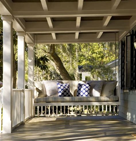 luxury porch swings design 101 classic porch swings home infatuation blog