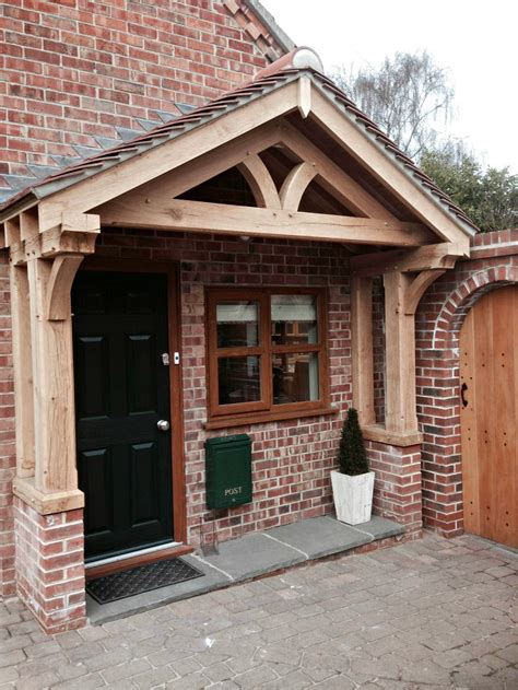 Pictures Of Porches Uk green oak porch doors
