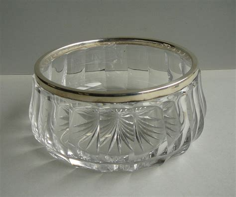 Silver Decorative Bowl by Fruit And Or Compote Bowl With Silver Decorative