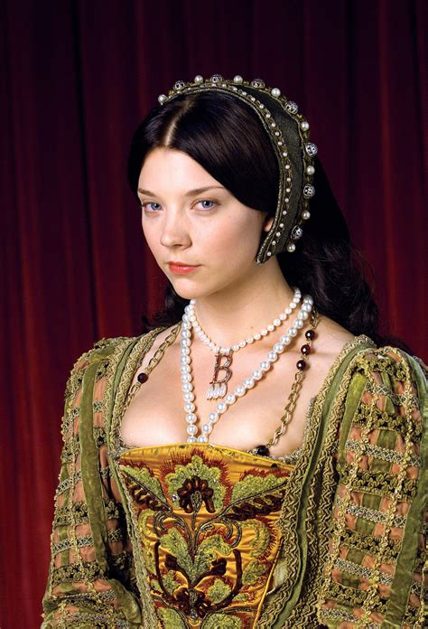natalie dormer as boleyn history s gems boleyn s monogram necklace poskett s