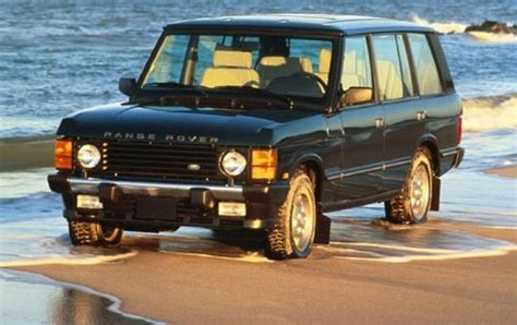 land rover 1990 1990 land rover range rover information and photos