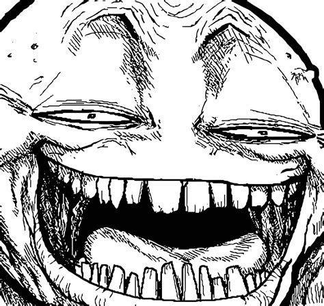 All The Meme Faces - hyper troll face meme on all the rage faces funnies
