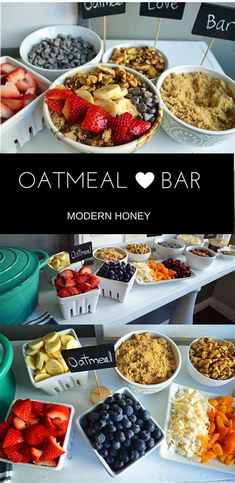 oatmeal toppings bar the 25 best brunch party ideas on pinterest brunch