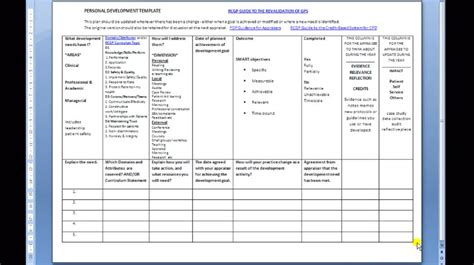Search Results for ?Template Personal Development Plan