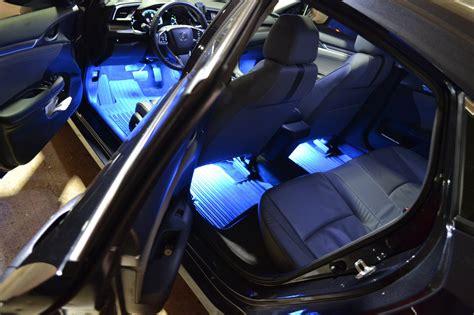 honda accord interior lights galaxy rider ledglow interior lighting kit 2016 honda