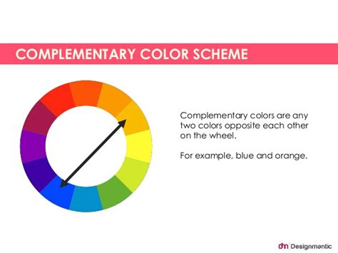opposite color of blue complementary color scheme complementary colors