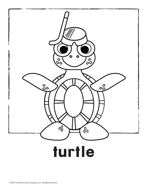 baby einstein world animals coloring coloring pages