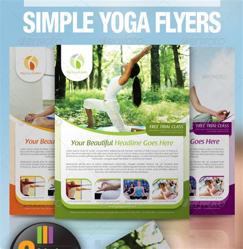 templates for yoga flyers yoga newsletter templates category events flyers