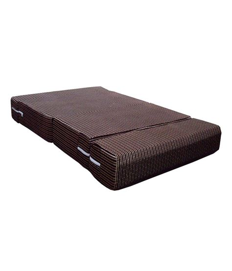 sofa cum mattress sofa cum bed in brown buy online rs snapdeal