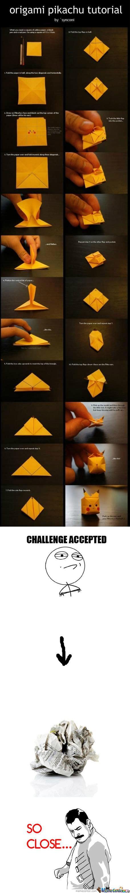 tutorial origami pokemon origami pikachu origami instructions origami origami