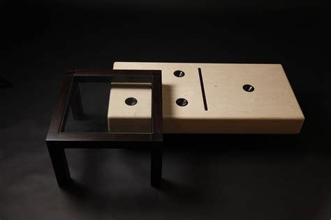 made quot domino quot cocktail table by studio wetz