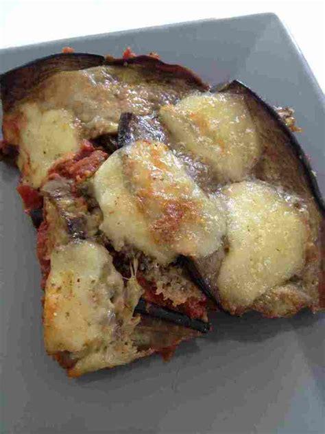 aubergine alla parmigiana cuisine
