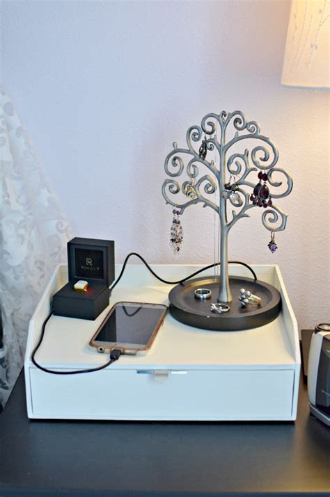 nightstand phone charger usb nightstand amazing l for nightstand top bedroom