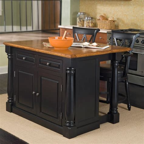 black island kitchen simple kitchen with wooden black painted kitchen island