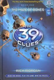 blood the rick cahill series books the maze of bones the 39 clues 1 by rick riordan