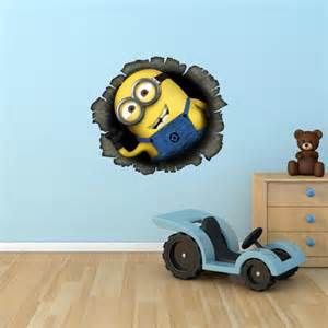 minion wall stickers unavailable listing on etsy