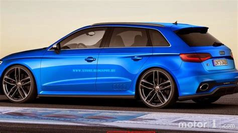 audi rs3 sport audi a3 clubsport quattro concept rendered in rs3 three