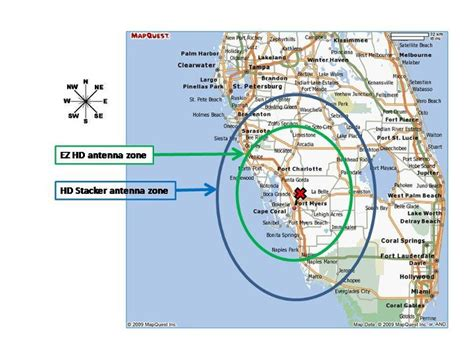 hd antenna map best tv antenna for fort myers fl tv stations