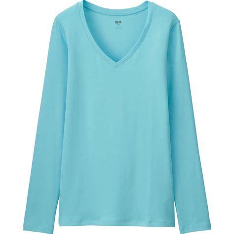 Uniqlo Sweatshirt Vintage Sweater 1 uniqlo supima cotton v neck sleeve t shirt in blue lyst