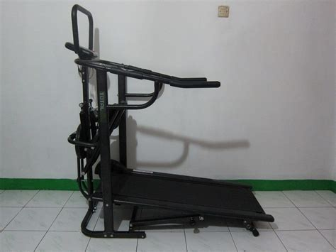 Treadmill Manual 5 Fungsi Tl 003 Totalfitnes 1 manual treadmill 4 fungsi anti gores laf 003 ag