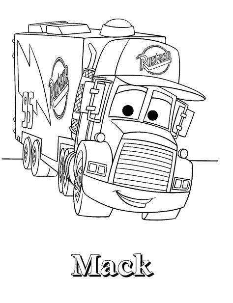 coloring pages lightning mcqueen and mater free coloring pages of mcqueen 2