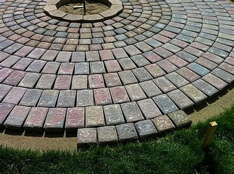 diy paver patio with pit diy patio with pit the owner builder network