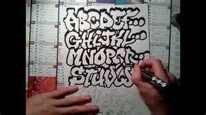 graffiti alphabet by spane 34 graff tutos d 233 butant