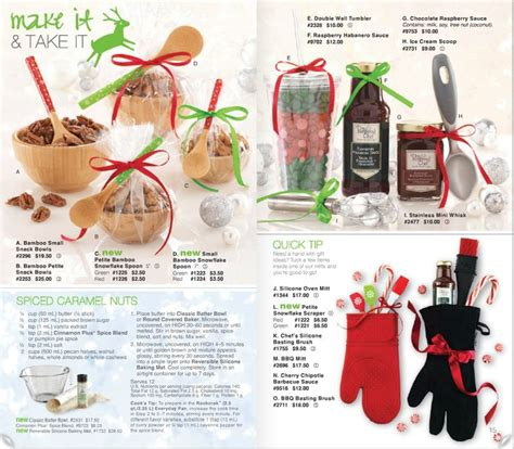 pered chef 2013 christmas catalog great gift ideas in