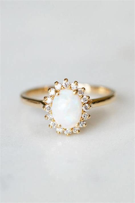 Opal Engagement Rings by 16 Unique Engagement Rings That Ll Make You Say Quot I Do