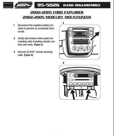95 mustang radio wiring diagram get free image about