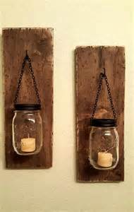 Shelf Sconce Diy Pallet Wall Mounted Candle Holders 101 Pallets