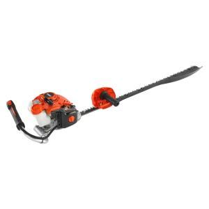 echo 21 2 cc 40 in gas single sided hedge trimmer hcs