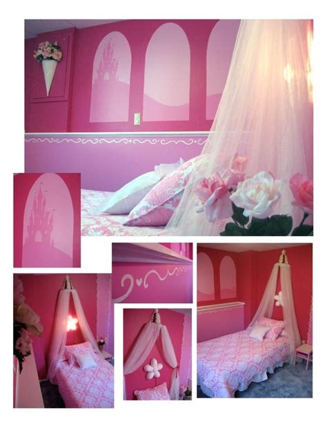 bedroom disney princess room decor with pink comfort bed also 64 best images about baby girl room ideas on pinterest