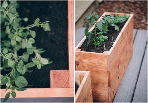 Small Herb Planters by Start Small Herb Garden