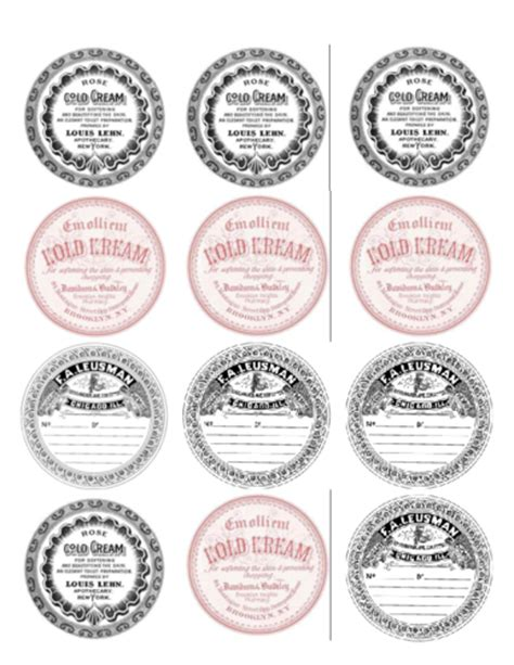 ol350 2 5 quot circle make your own vintage labels