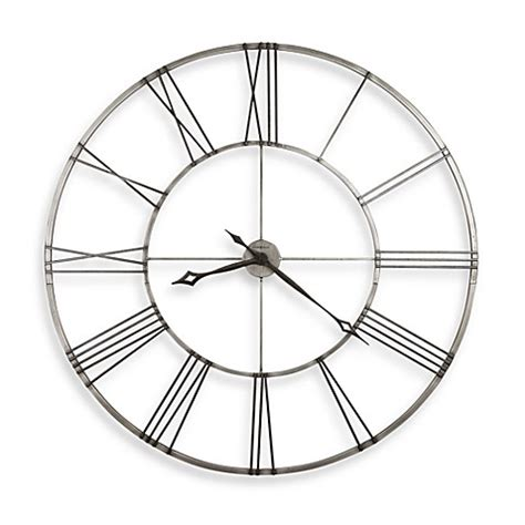 bed bath beyond clocks howard miller stockton gallery wall clock bed bath beyond