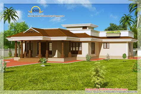 One Floor Homes by Kerala Style Single Floor House 2165 Sq Ft Kerala
