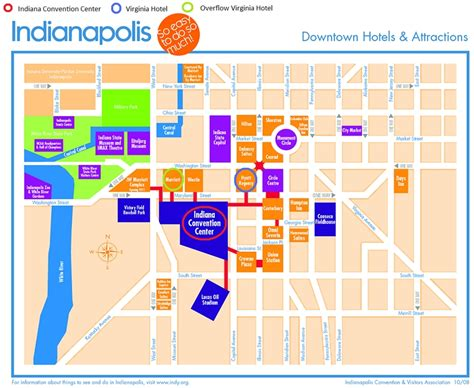 map of downtown indianapolis my blog
