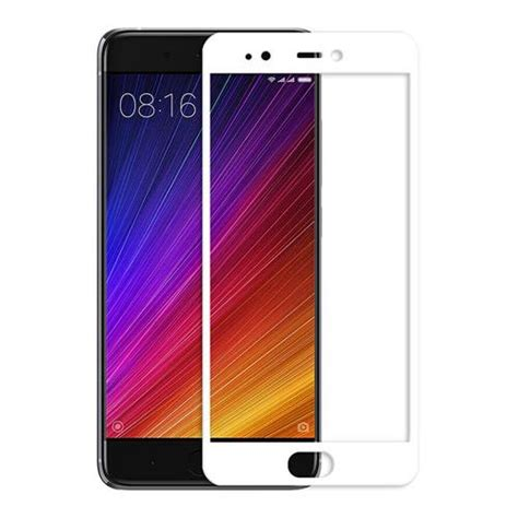 Tempered Glass Kaca Xiaomi Mi 5s Tempered Glass Warna 3d white xiaomi mi 5s tempered glass 0 33mm membrane