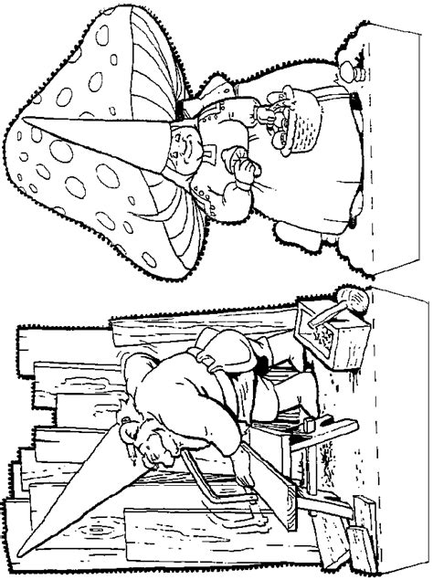 free coloring pages of garden gnomes