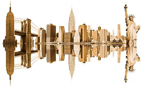 new york city landmarks new york city landmarks usa photograph by luciano mortula